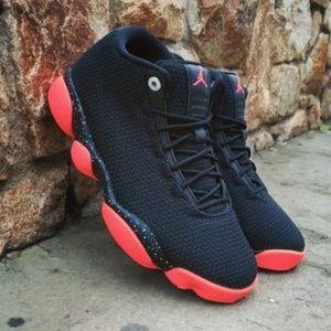 uk availability cce97 93964 ... real jordan shoes nike air jordans horizon low black red 38b1e 80252